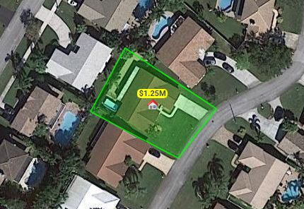 House land lot boundaries